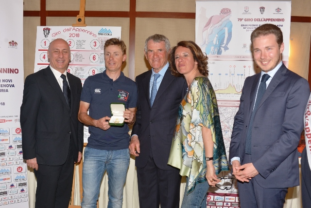 A Damiano Cunego l'Appennino d'Oro 2018